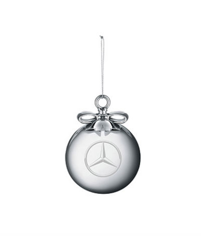 blown glass ornament Mercedes-Benz