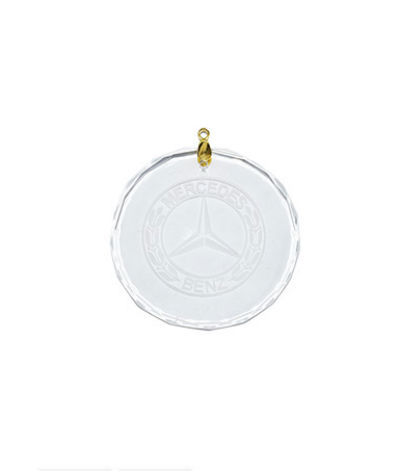 Crystal ornament Mercedes-Benz