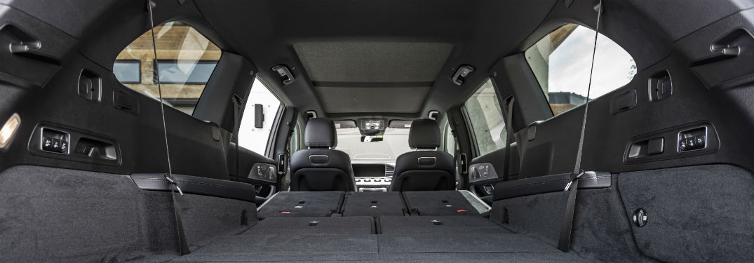 How big is the 2020 Mercedes-Benz GLS cargo space?