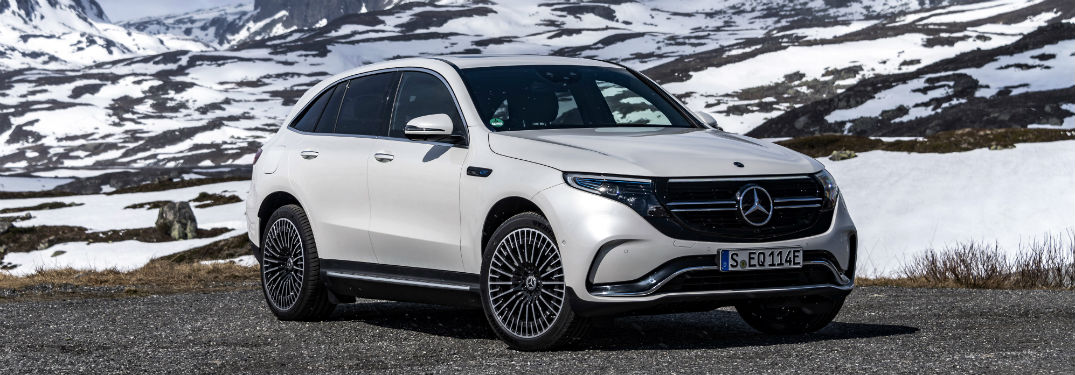 Power and performance of the 2020 Mercedes-Benz EQC