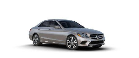 Mojave Silver Metallic 2020 MB C-Class exterior front fascia passenger side
