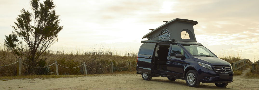 New Mercedes-Benz popup camper for the United States