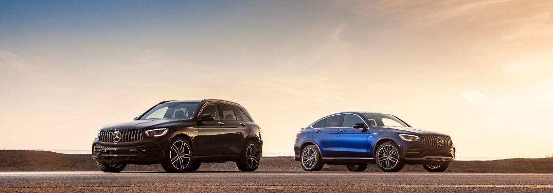 What are the 2020 Mercedes-Benz GLC package options?
