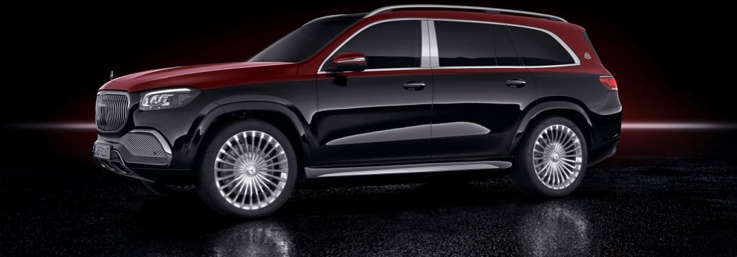 What are the 2021 Mercedes-Benz GLS Maybach color options?