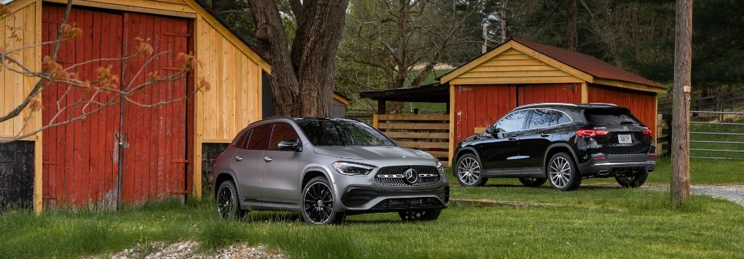 2021 Mercedes-Benz GLA video & images