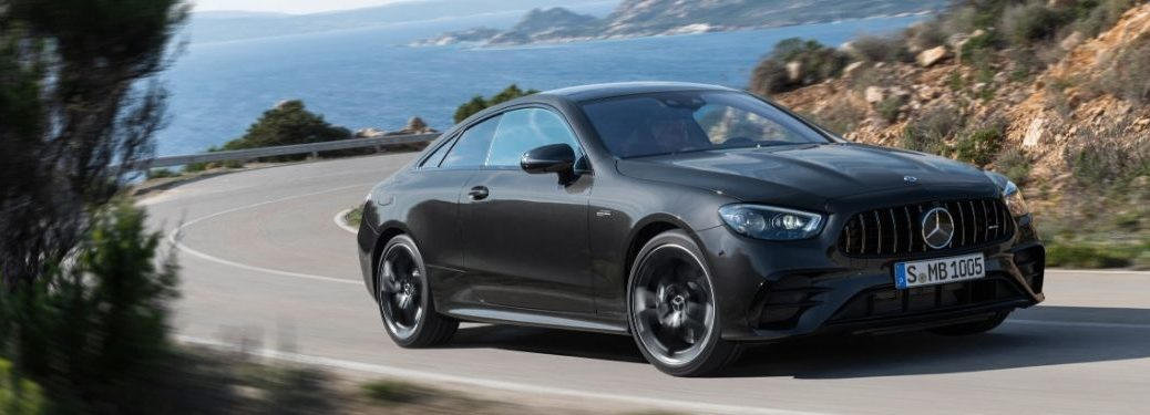 2020 MB E-Class exterior front fascia passenger side