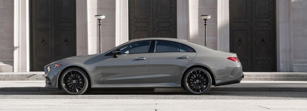 2021 MB CLS exterior driver side profile