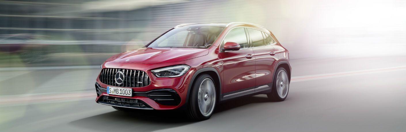 Fuel economy of the 2021 Mercedes-Benz GLA and other 2020 Mercedes-Benz SUVs