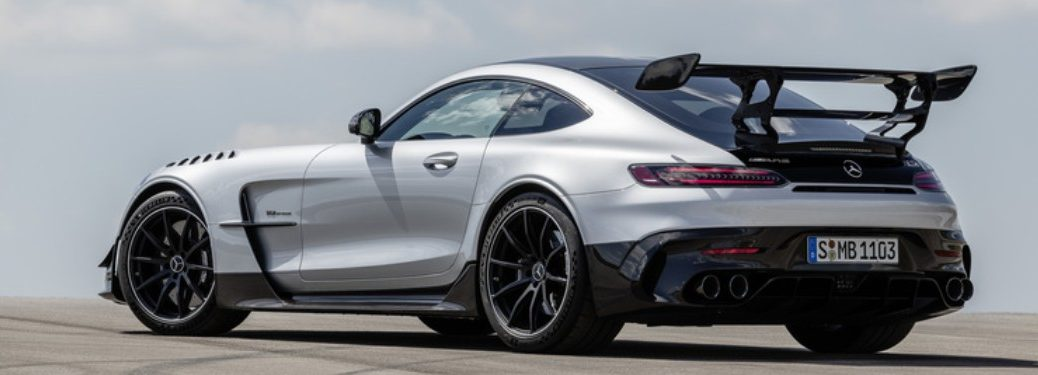 2021 MB GT Black Series exterior rear fascia driver side