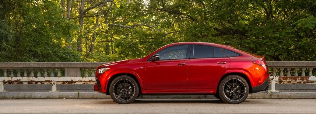 2021 MB GLE Coupe exterior driver side profile