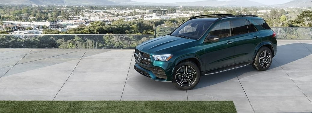 2021 MB GLE SUV exterior front fascia driver side
