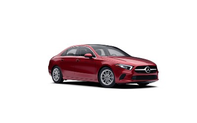Patagonia Red metallic  2021 MB A-Class exterior front fascia passenger side