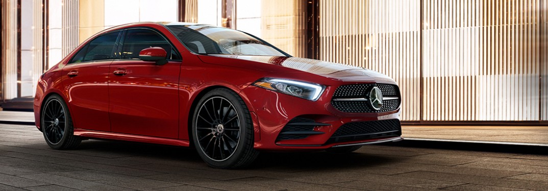 What are the 2021 Mercedes-Benz A-Class Color Options?
