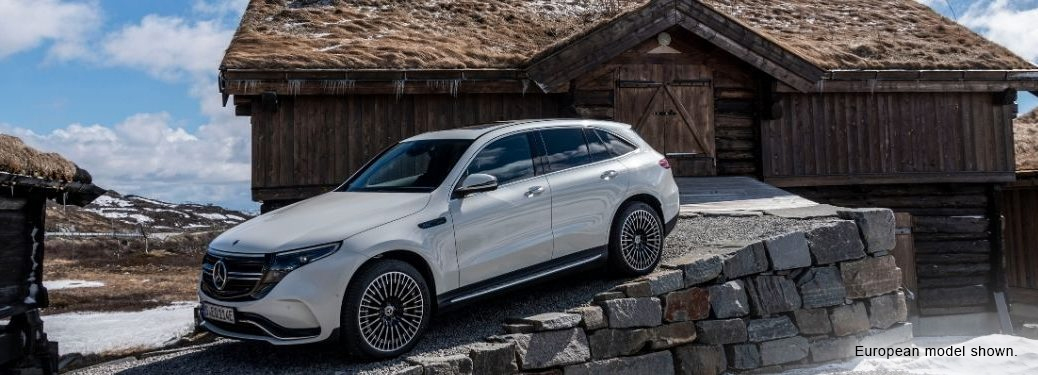 What are the EQ models in the Mercedes-Benz lineup?