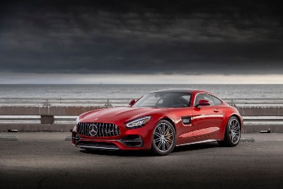 2020 MB GT C Coupe exterior front fascia driver side
