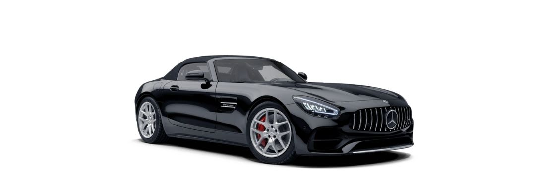 What wheel options are available in the 2021 Mercedes-Benz GT Roadster?