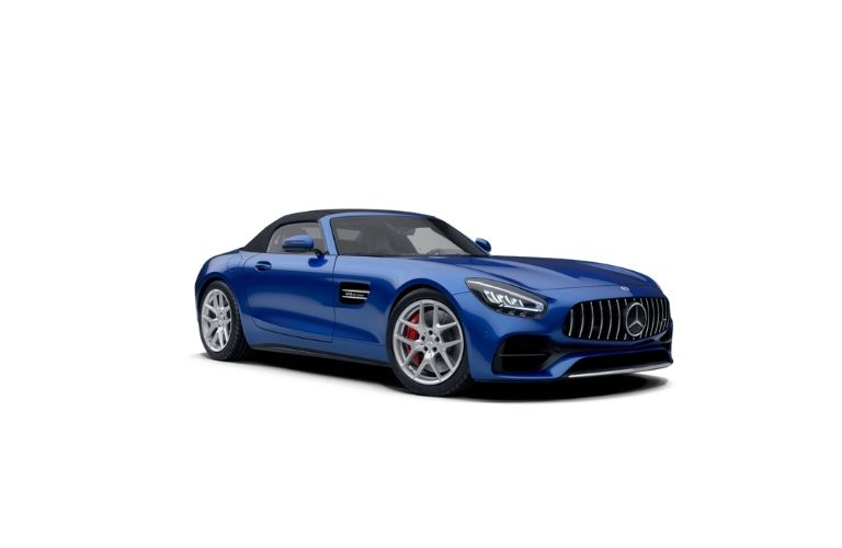 2021 MB GT Roadster Brilliant Blue Metall