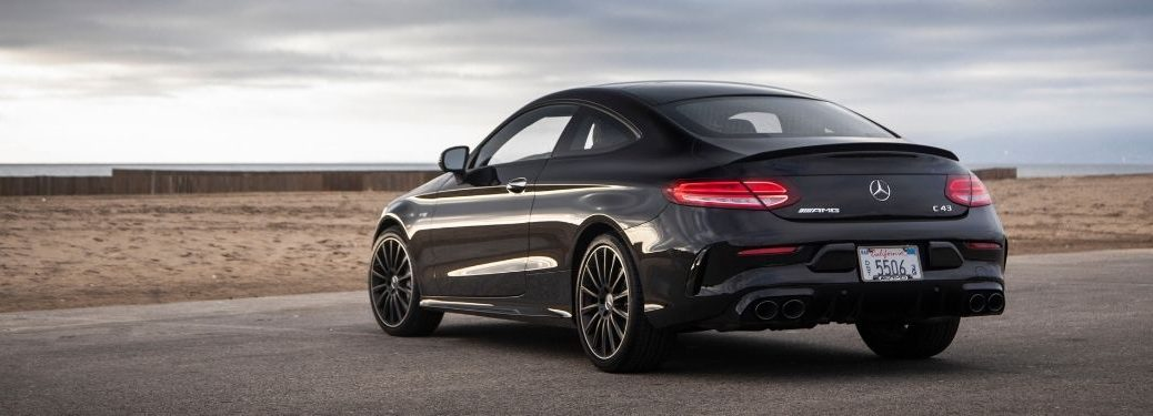 2021 MB C-Class Coupe exterior rear fascia driver side