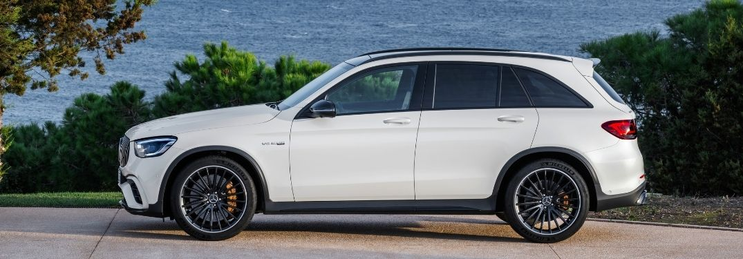 What are the package options for the 2022 Mercedes-Benz AMG® GLC SUV?