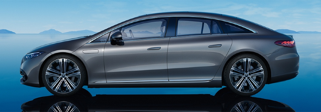 How long will it take to charge the 2022 Mercedes EQS?