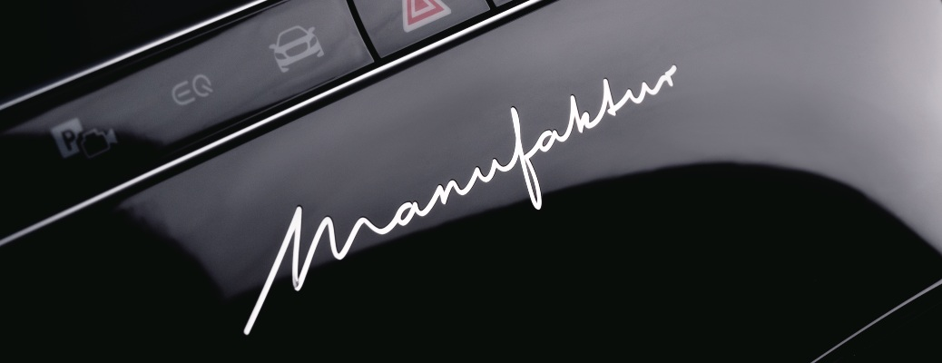 What is the MANUFAKTUR program from Mercedes-Benz?