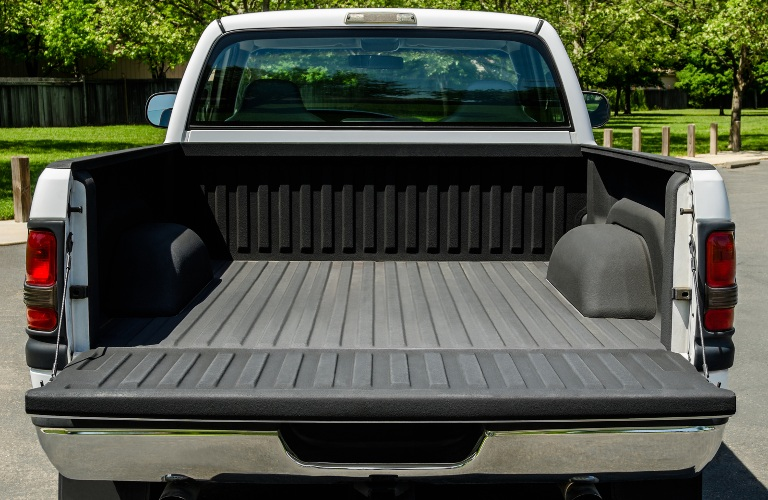 Empty Bed of Pickup Truck