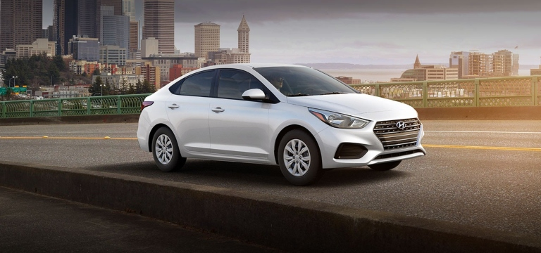 2020 Hyundai Accent Frost White Pearl