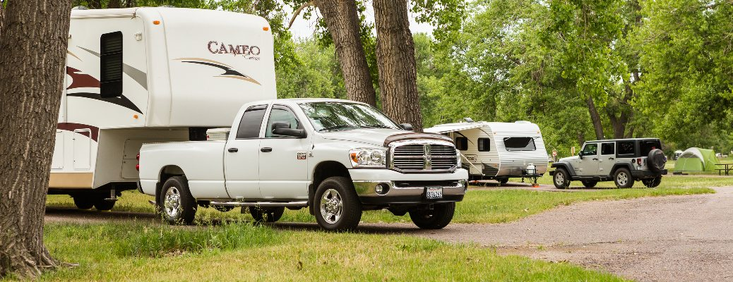 Successfully tow your trailer to your destination!
