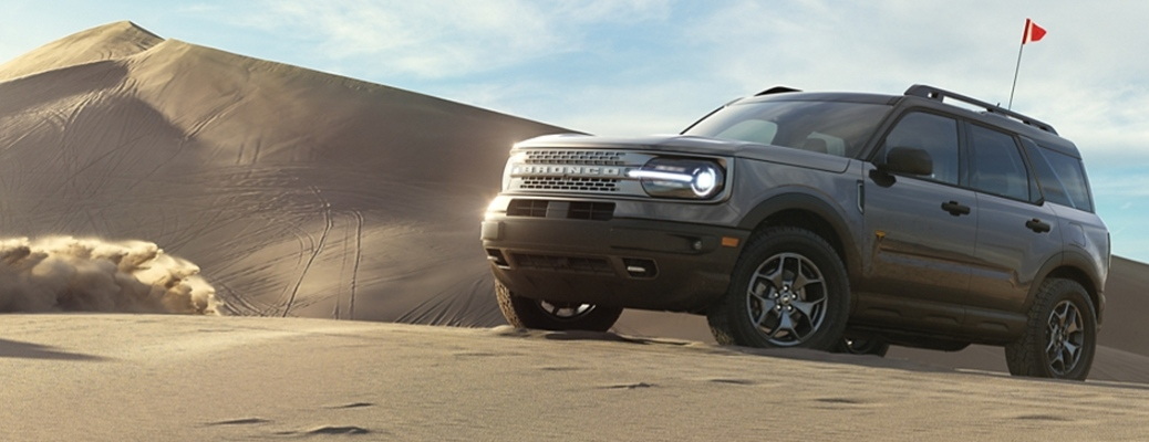 2021 Ford Bronco Sport in the sand