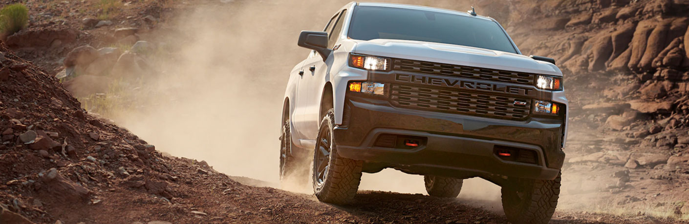 What color can I get a 2020 Chevrolet Silverado 1500 in?