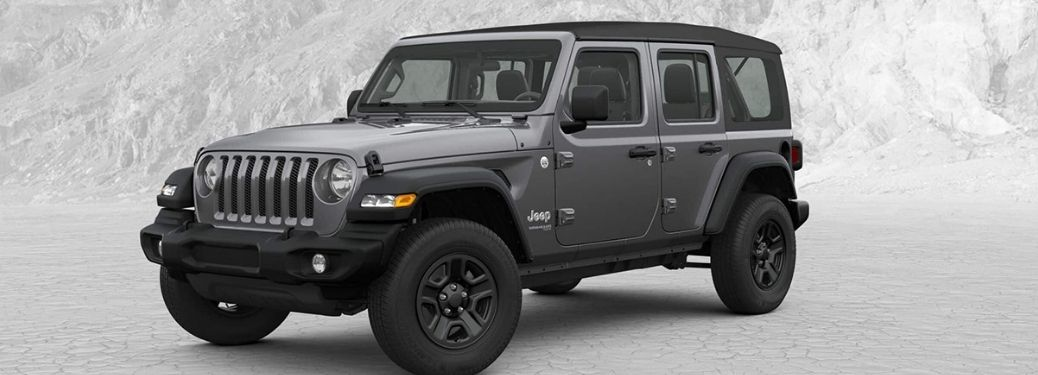 2019 Jeep Wrangler unlimited on display