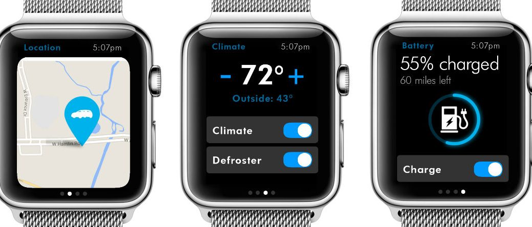 Volkswagen Car-Net is available on the Apple Watch!