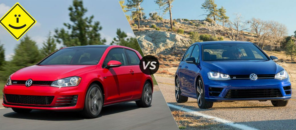 2016 Golf R vs GTI capo vw