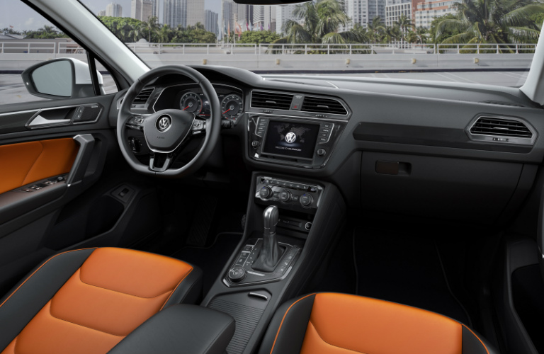 2017 Volkswagen Tiguan Interior Design and Features