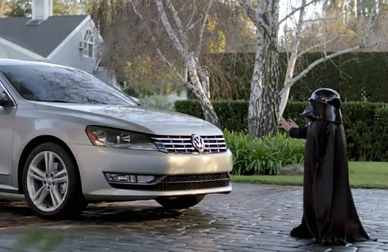 Max Page - The Force Commercial