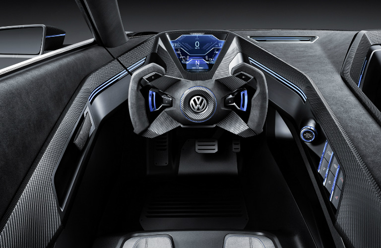 VW Golf GTE Sport Concept Dashboard