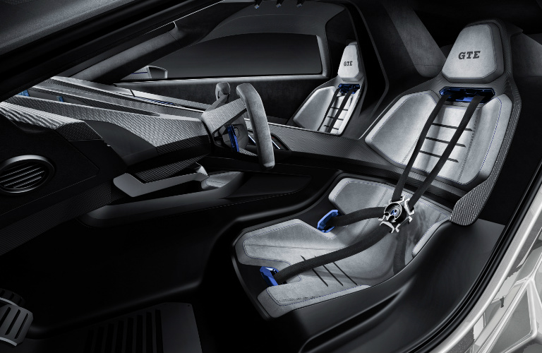 VW Golf GTE Sport Concept Interior