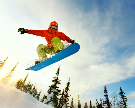 Where are the ski and snowboard resorts near Orange County?