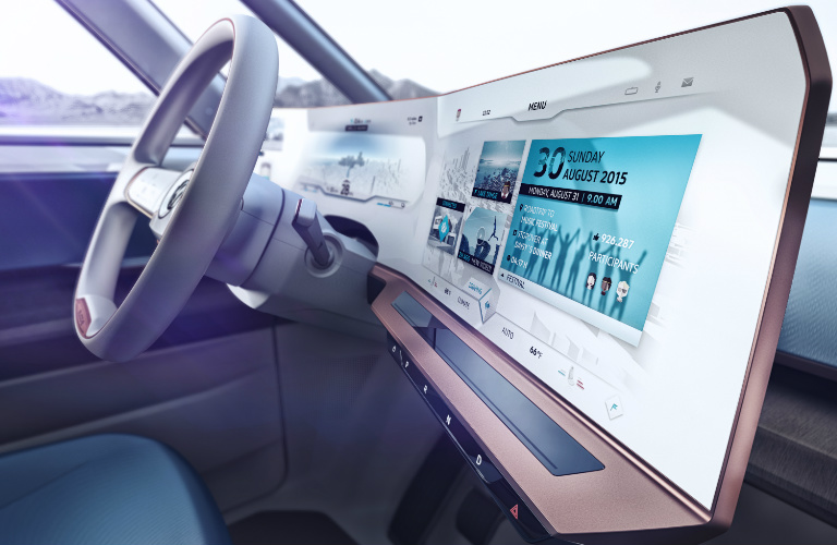 Volkswagen BUDD-e Concept Human Machine Interface