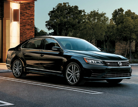 2016 Volkswagen Passat Trims and Pricing - Black Exterior