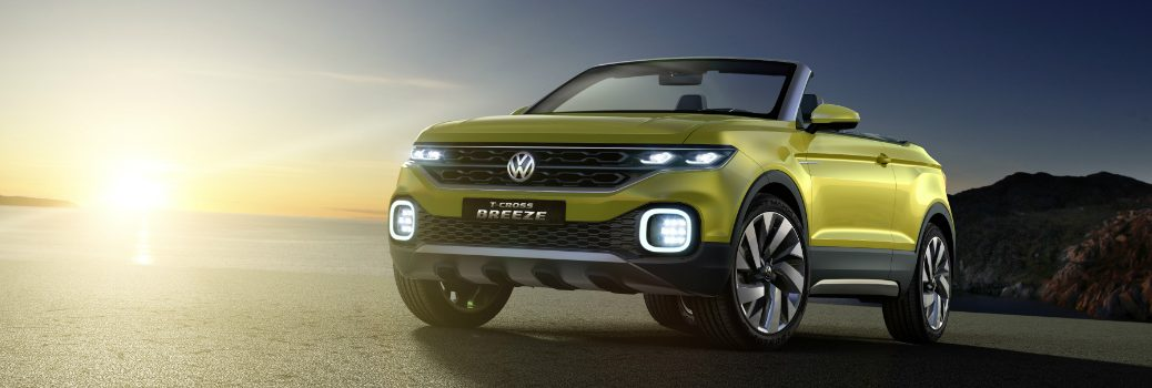 The VW T-Cross Breeze Debuts at Geneva International Motor Show