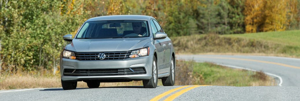 How 2016 VW Passat Autonomous Emergency Braking Works