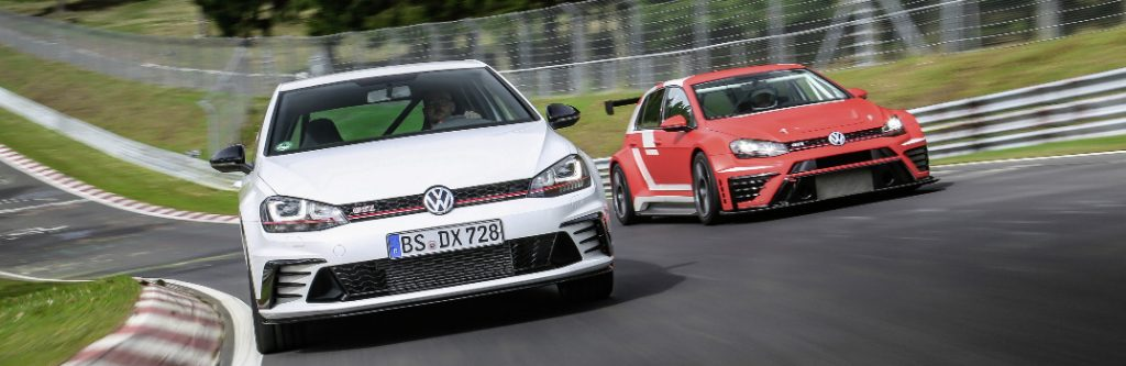 VW Golf GTI Clubsport S and Golf GTI TCR
