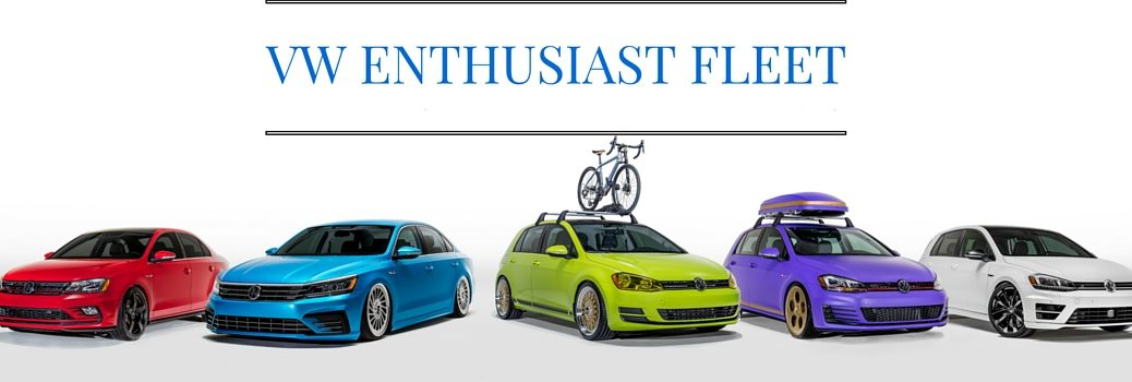 2016 Volkswagen Models for VW Enthusiast Show Fleet