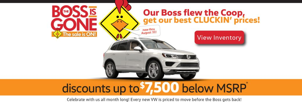 2016 August Volkswagen Specials Orange County CA