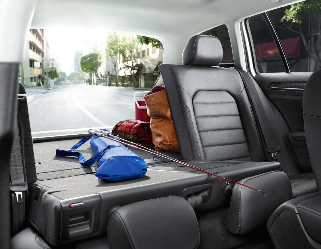 Cavernous Cargo Area for 2017 Golf SportWagen