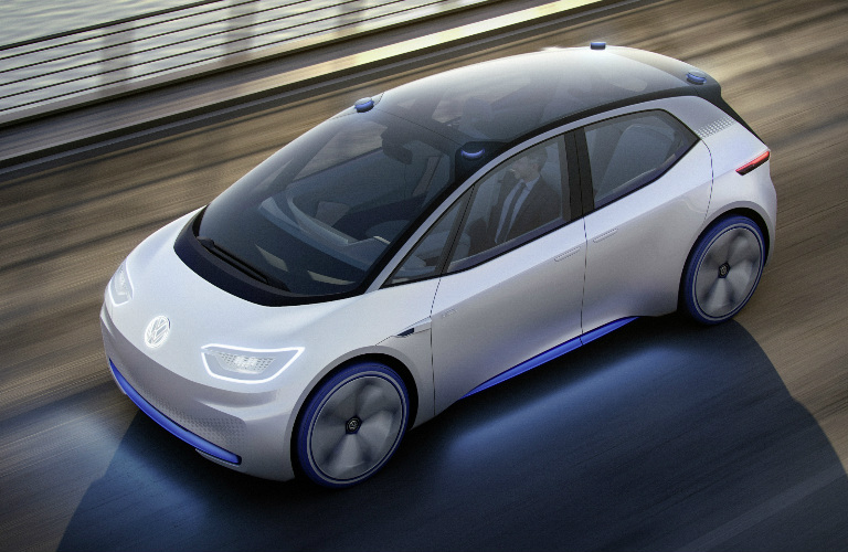 All-Electric MEB Powertrain of Volkswagen I.D.