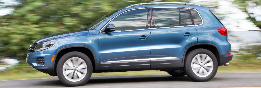 2017 Volkswagen Tiguan Car-Net Security Service Features
