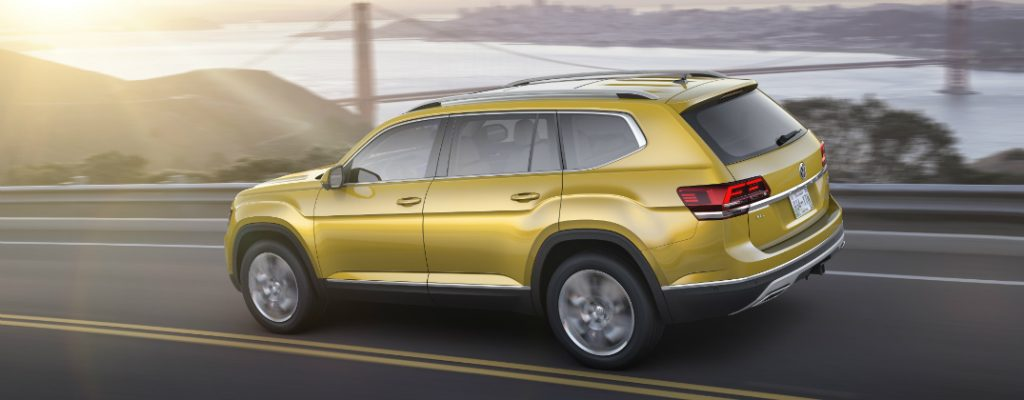 Volkswagen Atlas Largest VW Vehicle Ever Built in America