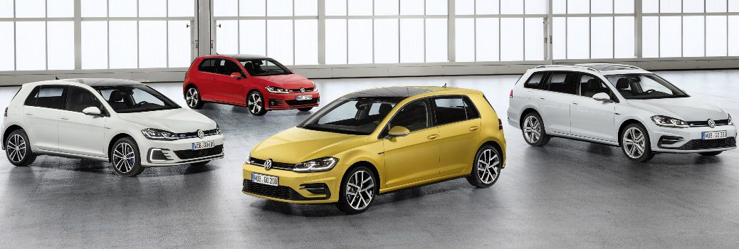 What features does Discover Pro offer in 2018 VW Golf family?